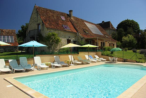 Une piscine chauffée, de l'espace, du calme...<br /> Des vraies vacances